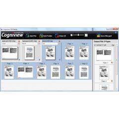 CogniView, Merge PDF